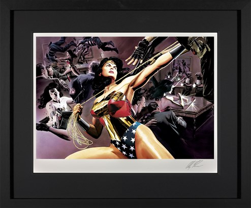 Wonder Woman: Defender Of Truth by DC - Framed Limited Edition on Paper